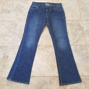 Old Navy Great Condition Boot Cut Blue Jeans